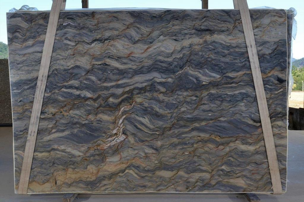 Ottawa Quartzite Countertop Slabs Fusion Blue