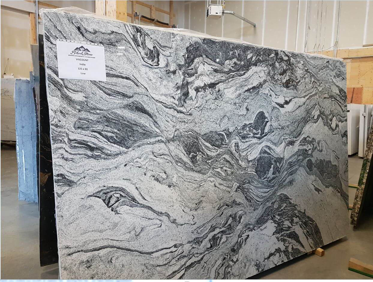 - Ottawa Granite Countertop Slabs Viscont White - Unique Collection