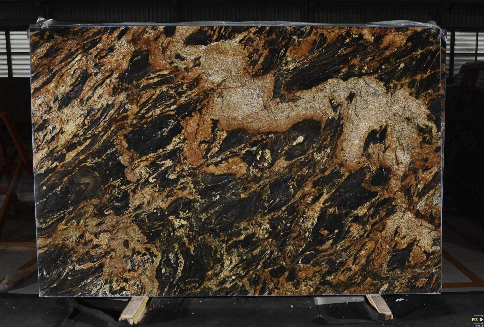 Ottawa Granite Countertop Slabs Magma Gold